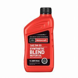 OLEJ MOTORCRAFT 5W30 SYNTHETIC BLEND 1L (0.964L)