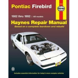 REPAIR MANUAL PONTIAC FIREBIRD 82-92