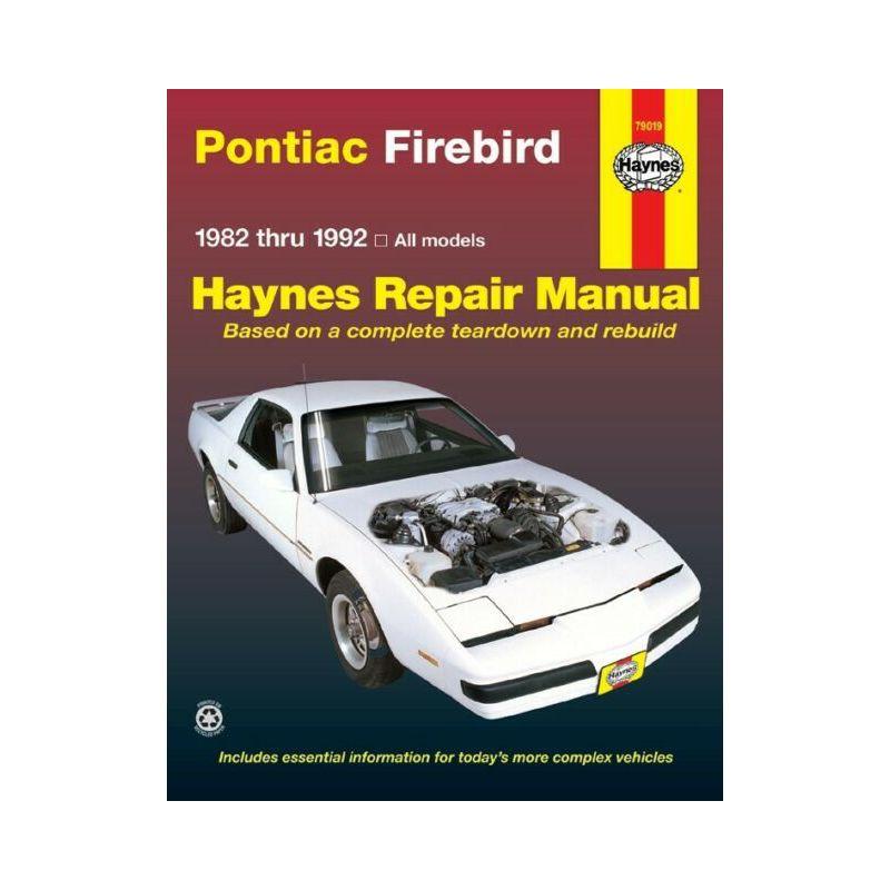 REPAIR MANUAL PONTIAC FIREBIRD 82-92