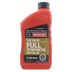 FULL SYNTHETIC MOTOR OIL 5W20 MOTORCRAFT 0,94L